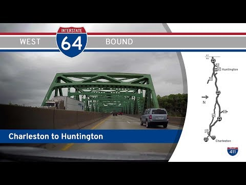 Interstate 64 - Charleston To Huntington - West Virginia |  Drive America's Highways 🚙