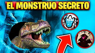 REVEALED THE SECRET EYE MONSTER IN FORTNITE DINOSAURIOS IN PICO POLAR