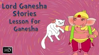 Lord Ganesha Stories - Parvati teaches a lesson for Ganesha - Mythological Story