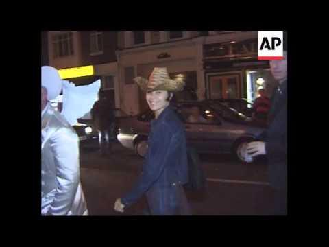 UK - George Michael celebrates his 35th birthday