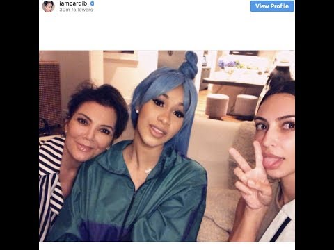 """Bardi Gang Warns Cardi B about hanging out with the Kardashians~ 'I'm A Part Of The Rich Club!"""""""