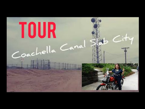 SLAB CITY LIFE - LET'S SWIM & FISH ! Coachella Canal