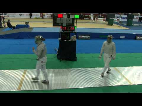 20100214 ws gp Moscow 64 green JACOBSON Emily USA 13 vs BIANCO Ilaria ITA 15 sd No
