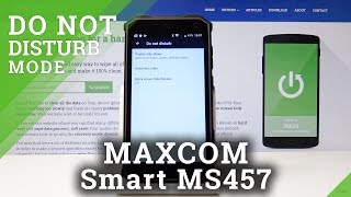 How to Activate DND Mode in MAXCOM Smart MS457 Strong - Enable Do Not Disturb Mode