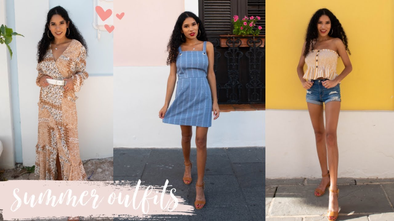 SUMMER OUTFIT IDEAS 2019