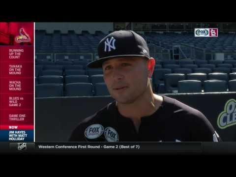 Matt Holliday on his adjustment to New York