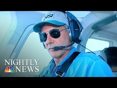 Harrison Ford Involved In Incident With Passenger Plane At Calif. Airport | NBC Nightly News