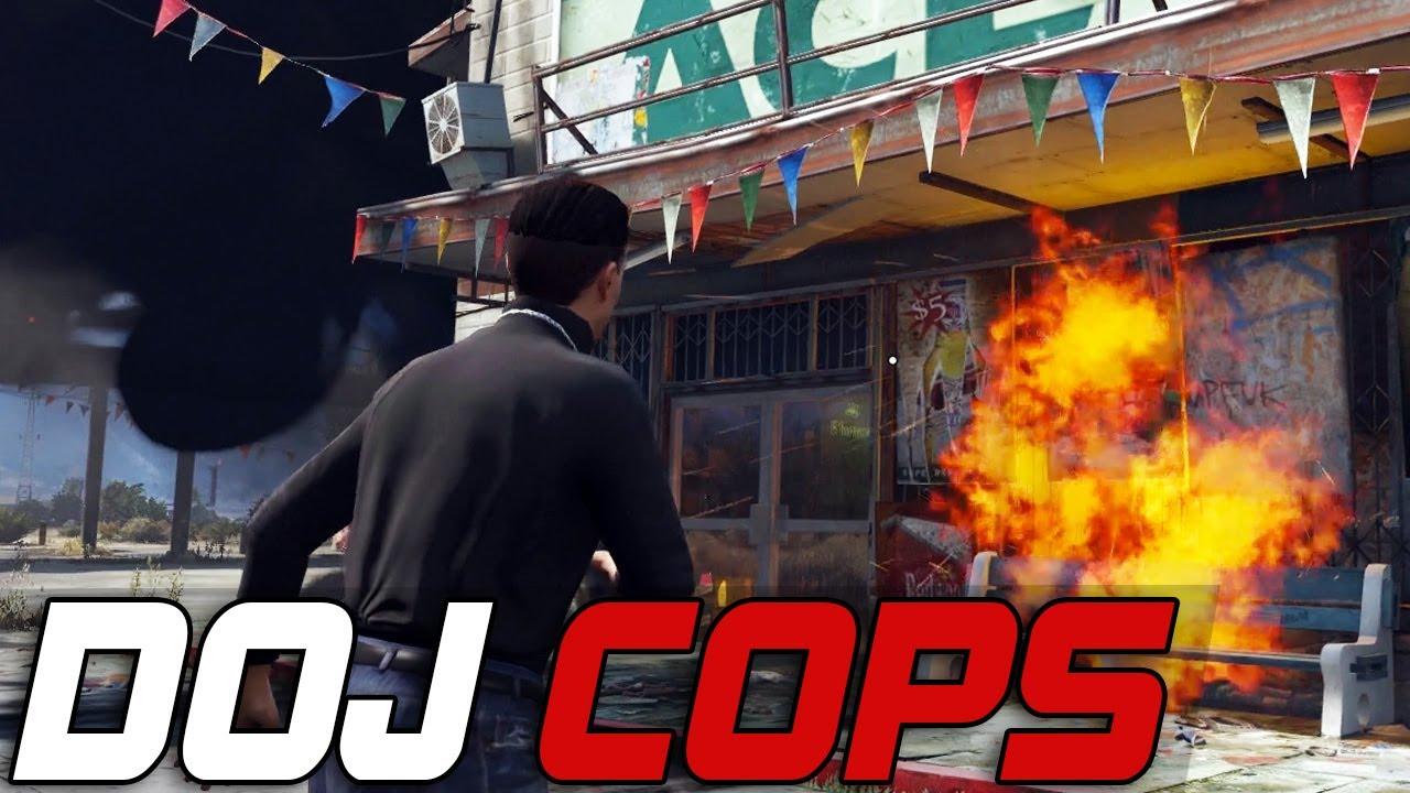 Dept. of Justice Cops #223 - Pyromaniacs (Criminal)