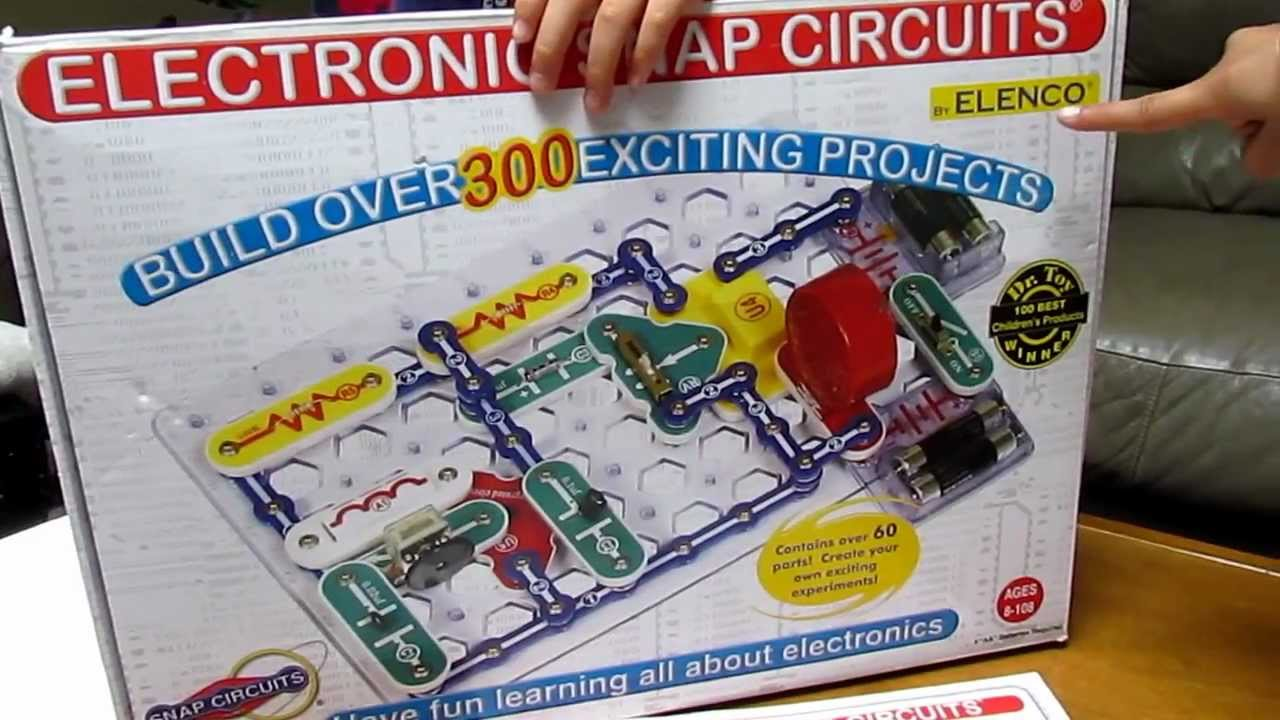 Elenco Snap Circuits Extreme 750 Experiments Educational