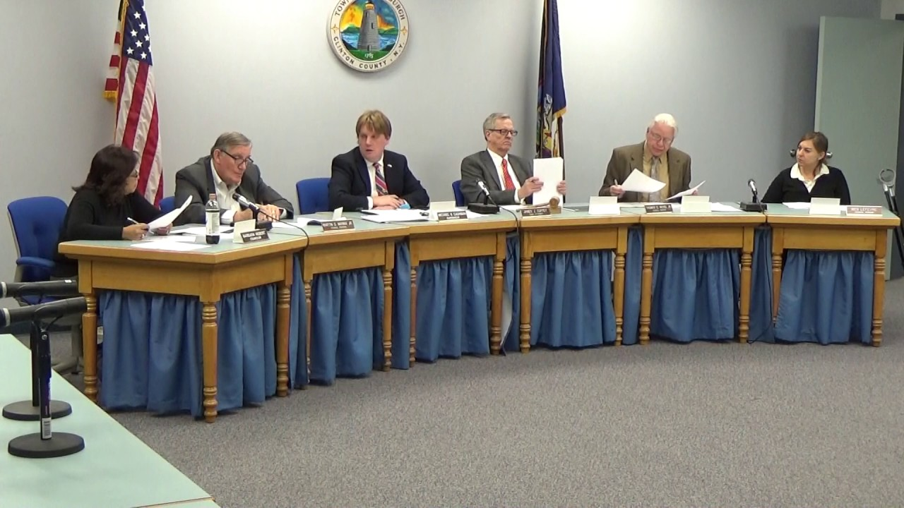 Town of Plattsburgh Meeting  2-16-17