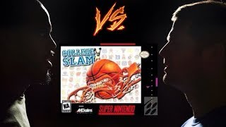 College Slam - Super Nintendo (SNES) - RSL - Tom vs Brian - Game 90