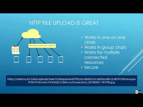 Sending And Receiving Files With XMPP  : Http File Upload