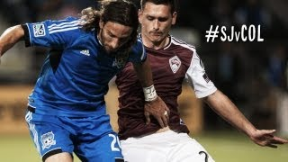 HIGHLIGHTS: San Jose Earthquakes vs. Colorado Rapids | October 9th, 2013