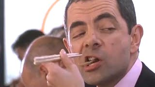 Sushi Bar | Johnny English | Funny Clip | Mr Bean Official