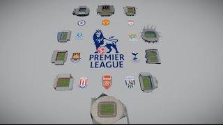 Стадионы АПЛ, Anfield, Stamford Bridge, Old Trafford, Goodison Park,Etihad Stadium