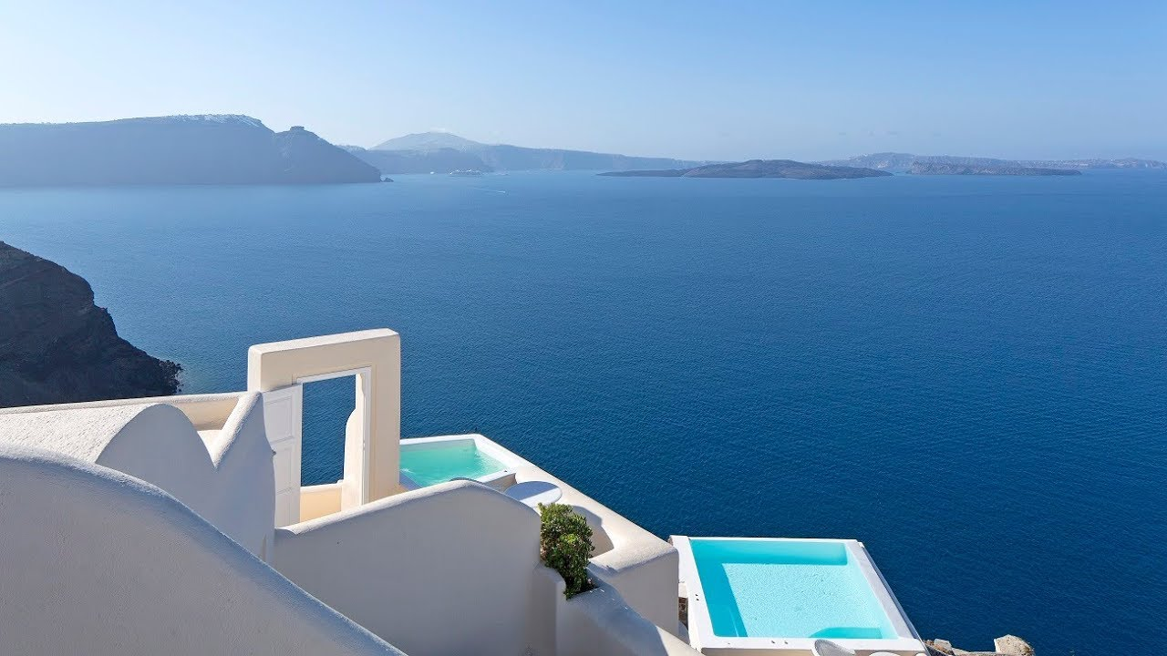Canaves Oia Luxury Suites Santorini S Most Amazing Hotel Full Tour