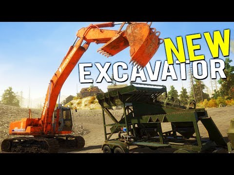 LARGEST GOLD NUGGET FOUND! WE BUY OUR MOBILE WASH PLANT + EX