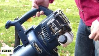 Test du souffleur broyeur GMC30C