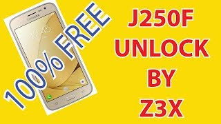 SM-J250F Network Pin Unlock With z3x videos, SM-J250F Network Pin
