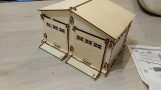 Конструктор деревянный гараж