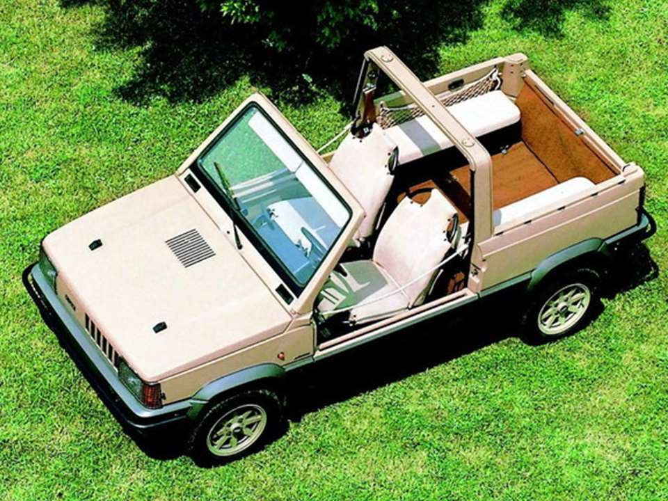 2620 fiat panda 4x4 strip italdesign 1980 prototype car youtube. Black Bedroom Furniture Sets. Home Design Ideas