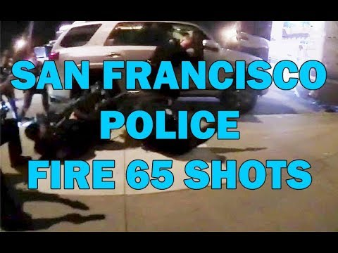 San Francisco Police Fire 65 Shots At Murder Suspect In RV On Video - LEO Round Table episode 498