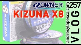 Owner Kizuna PE X8 Braided Line video