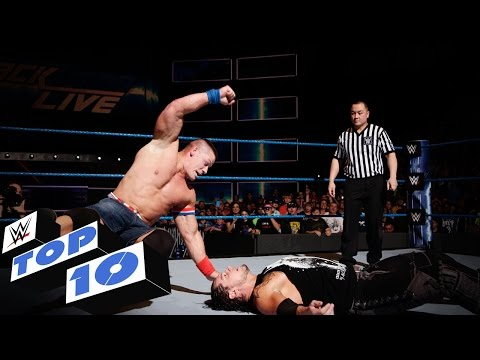 Top 10 SmackDown LIVE moments: WWE Top 10, Jan....