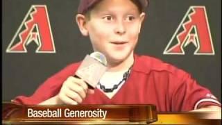 Kid gives up a baseball