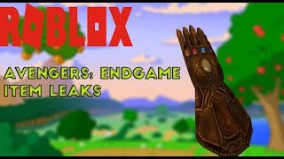 POSSIBLE AVENGERS: ENDGAME EVENT PRIZES LEAKED | ROBLOX