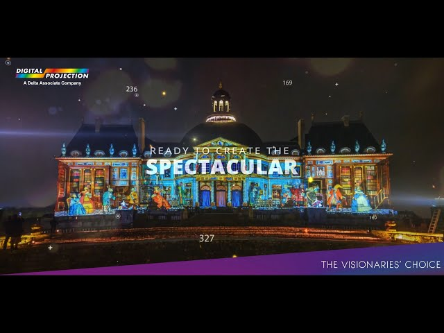 Create the Spectacular with Digital Projection