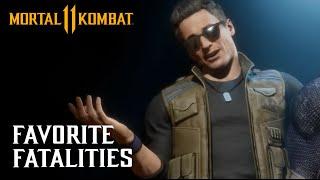 Mortal Kombat 11 - NetherRealm's Favorite Fatalities