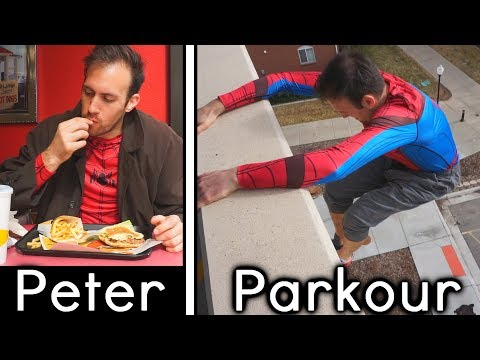 Peter Parkour: Into The Spider-Verse