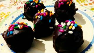 Chocolate balls|| Chocolate ball Recipe ||#Fruits_and_Nut_Chocolate_balls|| Chocolate ball dessert