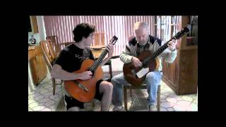 Bach Invention-Father and Son Duet!