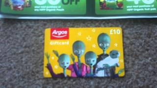 UK Freebies and Competition Wins 18/05/2014 Thumbnail