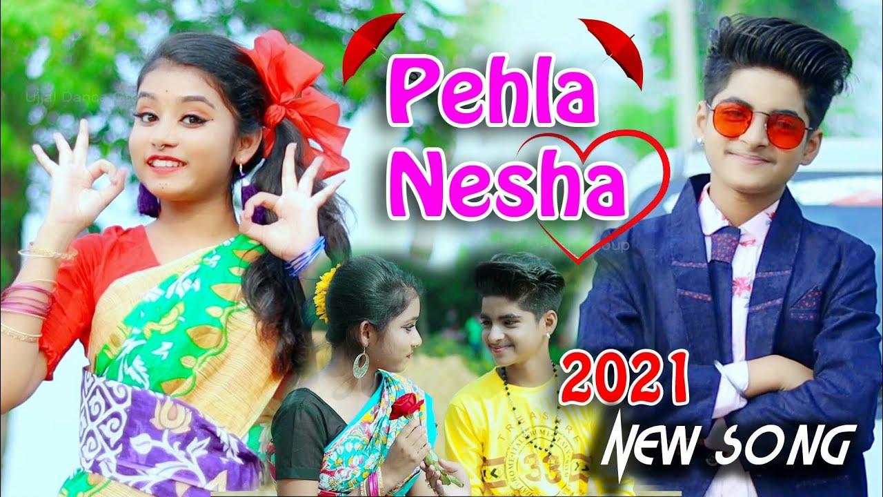 Download Pehla Nasha Pehla Khumar☺Cute Love Story 🌻 New bollywood songs | Rupsa and Rick | Ujjal Dance Group
