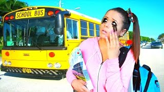 my school morning routine   krazyrayray