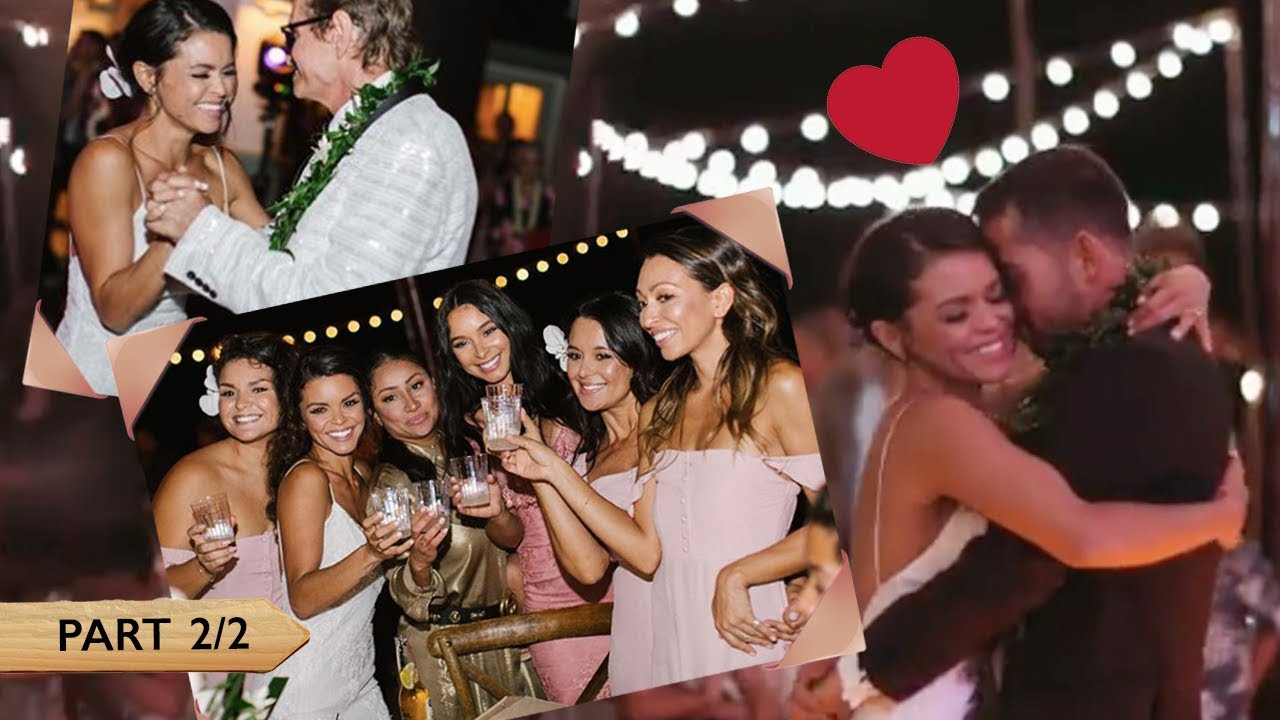 Wedding Party 2.Jessica Caban And Bruno Mars At Tahiti And Billy Wedding Part 2 2