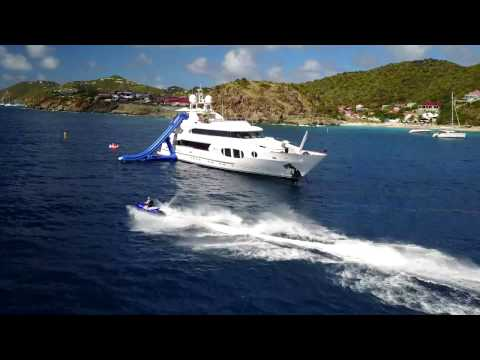 My crazy Yacht trip in the Virgin Islands!  Yacht Bina