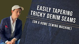 Taper Your Denim Wİth This Quick Hack   Tailoring Techniques