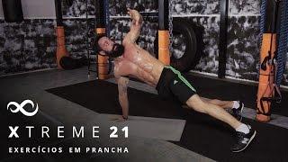 Exercícios em prancha são perfeitos para fortalecer o abdômen, braç...