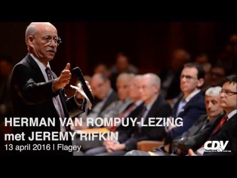 Herman Van Rompuy-lezing met Jeremy Rifkin