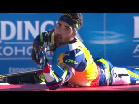 CLOSEST FINISH ! Biathlon World Cup 3 (2015-2016) - Men's 15km Mass Start race