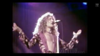 Repeat youtube video Led Zeppelin - Kashmir - RARE FILM - L.A. 3/25/75