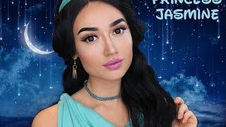 Princess Jasmine  ❤️ Makeup Tutorial ❤ Besthairbuy Review ❤
