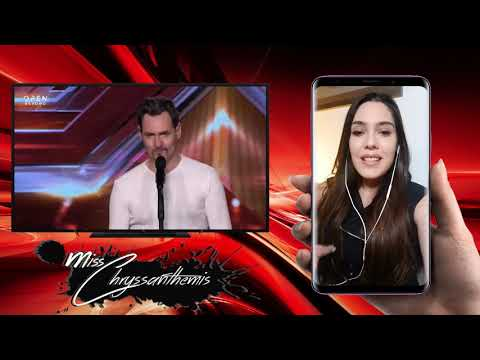 Η αντίδρασή μου στο «Αγάπα με» από τον Κώστα Γιαννουλόπουλο | Auditions | X Factor Greece 2019