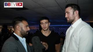 Hughie & Tommy Fury talk about their immediate plans and the Collyhurst and Moston 100 year show.