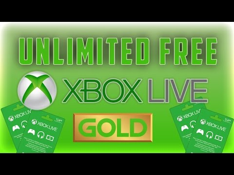 Free Unlimited Xbox Live Gold Tutorial! Free Xbox Live Gold Method Working 2016 (Unlimited FREE XBL)