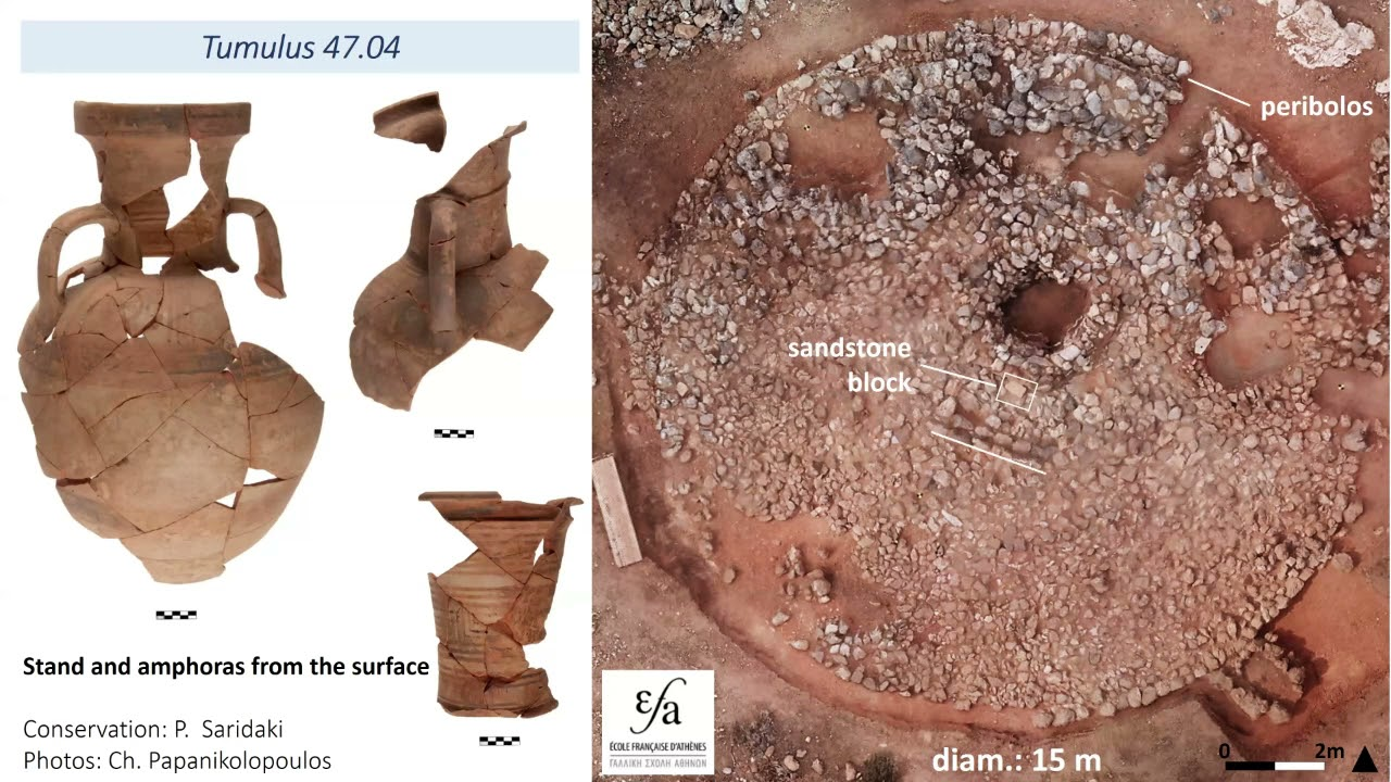 Youtube Video: Session 14 - The Early Iron Age tumular necropolis at Anavlochos (Florence Gaignerot-Driessen)